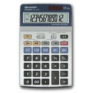 Sharp, Calcolatrici, El337c, SH-EL337C