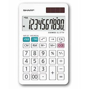 Sharp, Calcolatrici, El377w, SH-EL377W