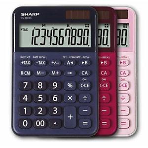 Sharp, Calcolatrici, Elm335bbl - blu, SH-ELM335BBL