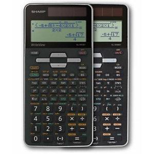 Sharp, Calcolatrici, Elw506tbsl writeview argento, EL-W506TBSL