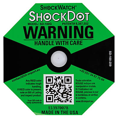 ShockDot indicateur de choc##ShockDot Schokindicator