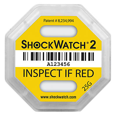 ShockWatch®2 indicateur de choc##ShockWatch®2 Schokindicatoren