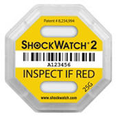 ShockWatch®2 Schokindicatoren