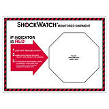 Shockwatch følgeetiketter