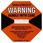 Shockwatch indicator labels