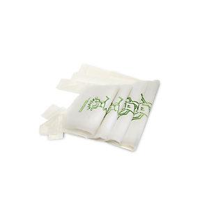 Shopper biodegradabile e compostabile, 27+16 x 50 cm, Naturale (confezione 500 pezzi)