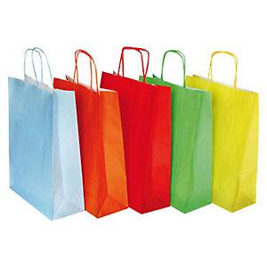 Shoppers - Colori assortiti Primavera - F.to cm 27 x 11 x 36 (confezione 25 pezzi)