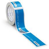 Sicherheits-Etiketten auf Klebebandrolle RAJATAPE - vorgeschnitten und nummeriert