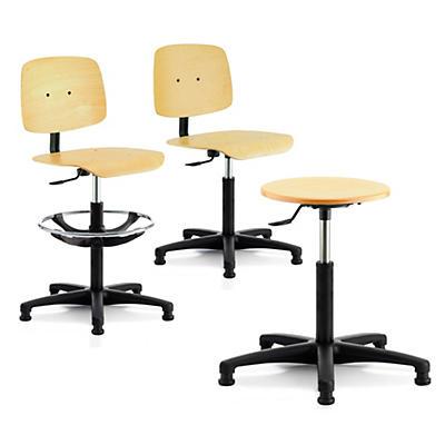 Siège et tabouret assise bois##Stoel en zitkruk met houten zitvlak