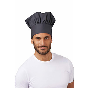 SIGGI GROUP Berretto chef in tessuto elasticizzato Jack, Grigio