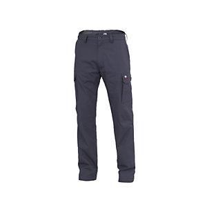 SIGGI GROUP Pantalone multitasche Amsterdam Heavy, Taglia L, Grigio