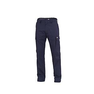 SIGGI GROUP Pantalone multitasche Amsterdam Light, Taglia M, Blu