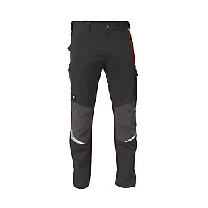 SIGGI GROUP Pantalone stretch Finder, Taglia S, Grigio