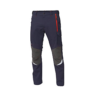 SIGGI GROUP Pantalone stretch Finder, Taglia XXL, Blu