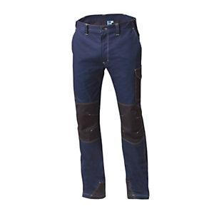 SIGGI GROUP Pantalone tecnico Sydney in tessuto elasticizzato, Taglia L, Blu