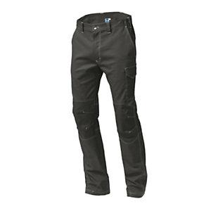 SIGGI GROUP Pantalone tecnico Sydney in tessuto elasticizzato, Taglia L, Grigio