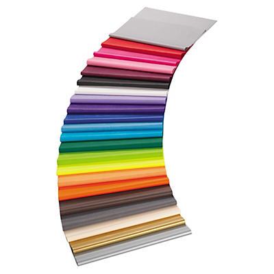 Silkepapir i 19 forskellige farver