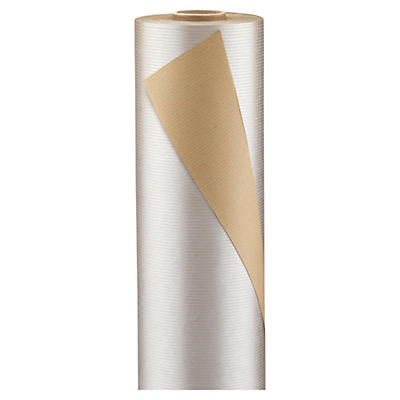 Silver and gold Kraft paper gift wrap