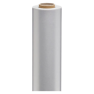 Silver gift wrapping paper