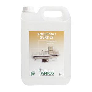 Désinfectant Aniospray Surf 29 Anios, bidon de 5 L