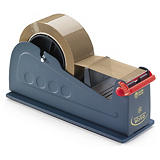 Single or double roll tape dispenser