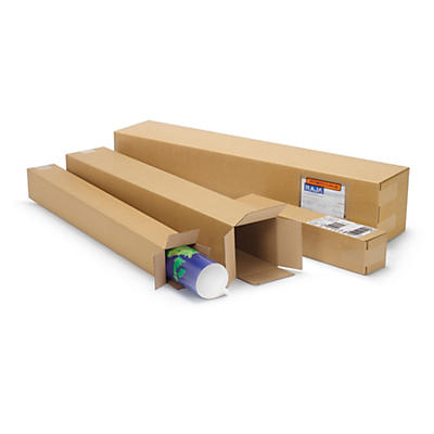 Single wall, long cardboard box lids