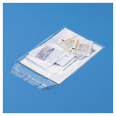 Självhäftande plastpåsar - 50 my