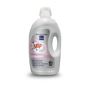 Skip Pro Formula Detergente para la ropa, sin aroma, sensible y ecológico, 4,32 L