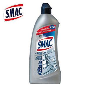SMAC Brilla Acciaio Detergente Crema Multiuso Per Cucina Anticalcare Flacone 500 ml