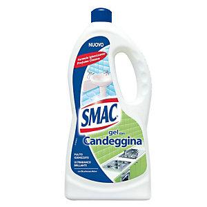 SMAC Detersivo per il Bagno Candeggina Disinfettante Flacone Gel 850 ml