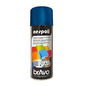 Smalto brillante acrilico, Bomboletta spray da 400 ml, Blu genziana