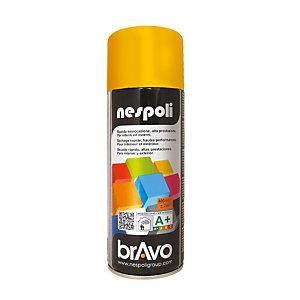 Smalto brillante acrilico, Bomboletta spray da 400 ml, Giallo