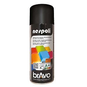 Smalto brillante acrilico, Bomboletta spray da 400 ml, Nero brillante