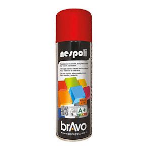 Smalto brillante acrilico, Bomboletta spray da 400 ml, Rosso fuoco