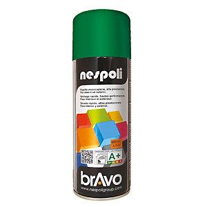 Smalto brillante acrilico, Bomboletta spray da 400 ml, Verde smeraldo