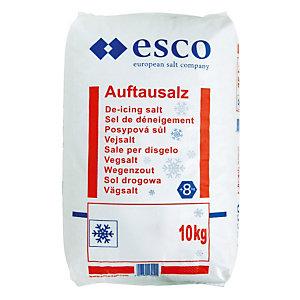 Sneeuwvrij zout zak van 10 kg
