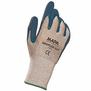 Snijbestendige handschoenen met hoge bescherming Kroflex 840 Mapa, maat 9