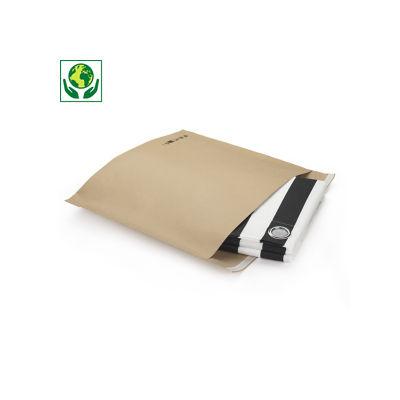 Sobre papel kraft con cierre adhesivo