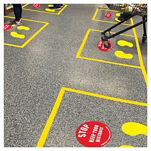 Social Distance Floor Marker Kits