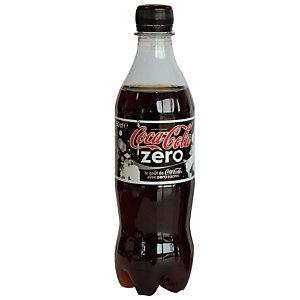 Soda Coca-Cola zéro sucres, en bouteille, lot de 24 x 50 cl