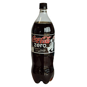Soda Coca-Cola zéro sucres, en bouteille, lot de 6 x 1,25 L