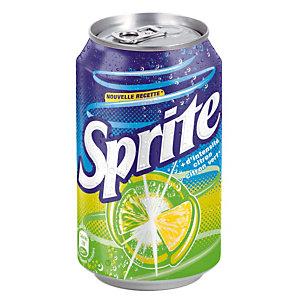 Soda Sprite, en canette, lot de 24 x 33 cl
