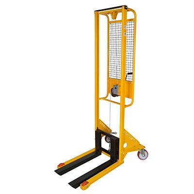 Sollevatore ad arganello con frizione incorporata e arresto automatico portata 200 kg
