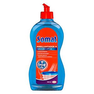 Somat Abrillantador líquido + Secado Extra para máquinas lavavajillas, 500 ml