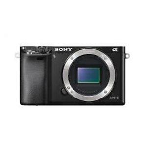 Sony, Fotocamere digitali mirrorless, Ilce6000 + sel1650 black, ILCE6000LB.CEC