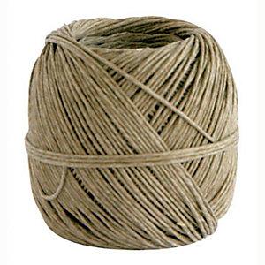 Spago in fibra naturale - Diametro 1,5 mm x 80 m - Titolo 2/4 - Peso 100 gr.