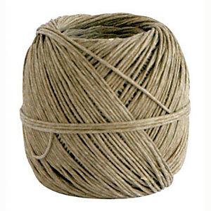 Spago in fibra naturale - Diametro 2 mm x 37 m - Titolo 2/2 - Peso 100 gr.