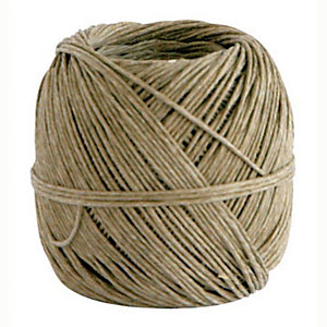 Spago in fibra naturale - Diametro 3,5 mm x 75 m - Titolo 3/4 - Peso 500 gr.