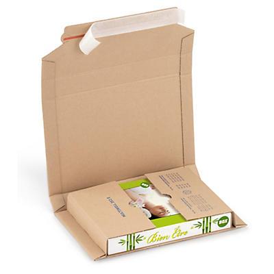 Sparpac - brune selvklebende omslag -Pakke i postkassen - Bring