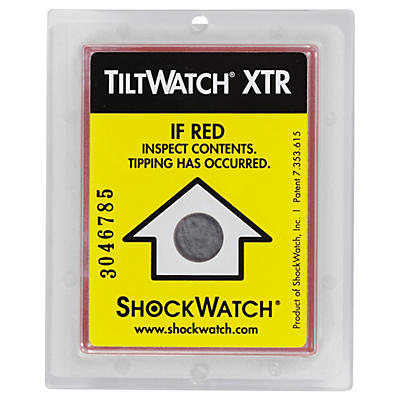Specialist Tiltwatch packaging labels